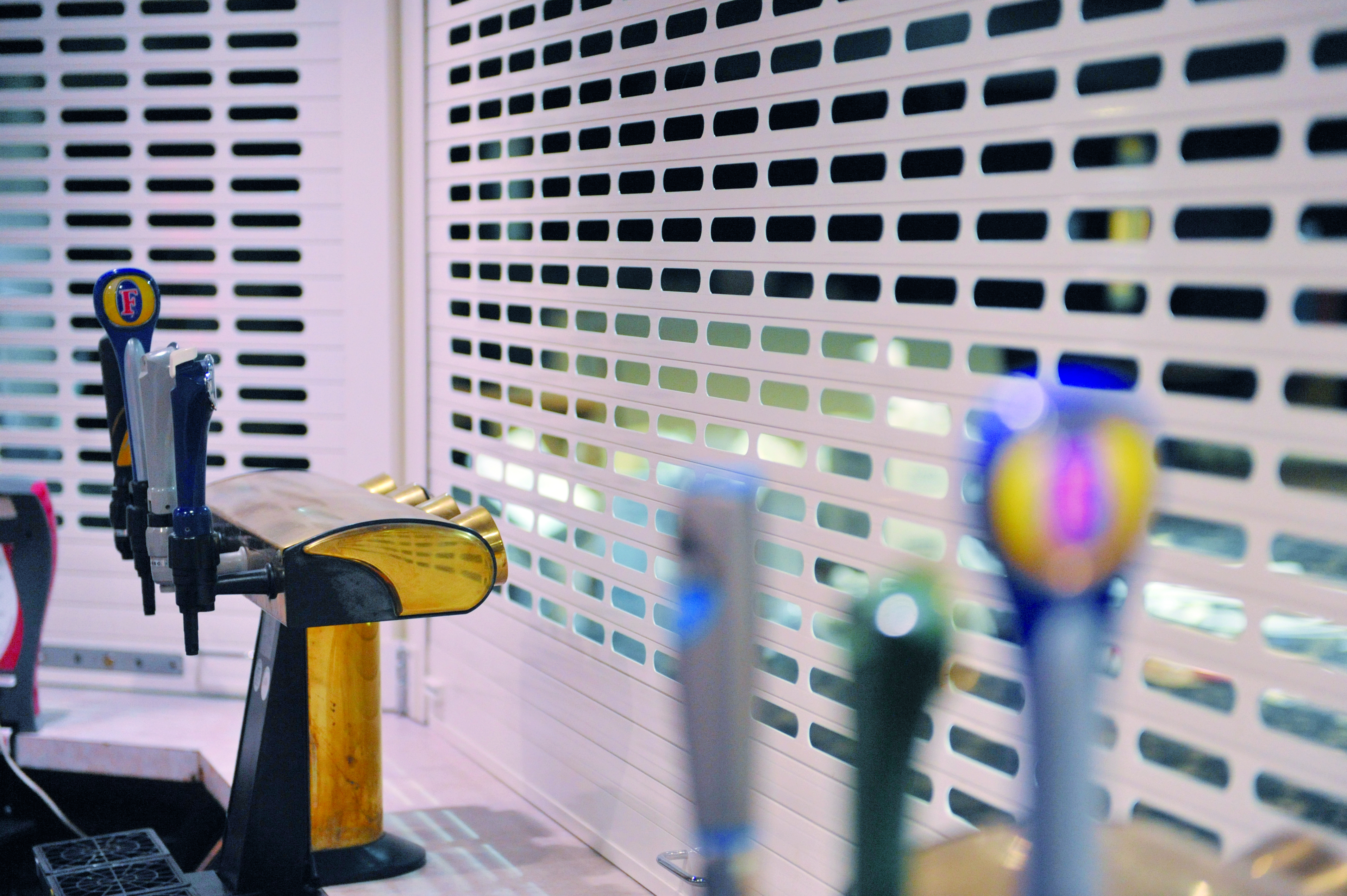 Arrow Security Shutters Ltd - Bar Shutters