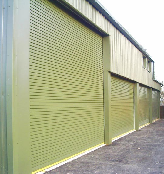 Galvanised Steel Insulated Slats Powder Coated