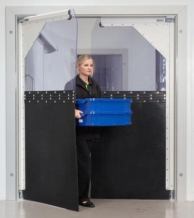 Impact Crash Door  sc 1 st  Arrow Security Shutters & PVC Curtains / Doors \u0026 Welding Curtains | PVC IMPACT CRASH DOOR ...