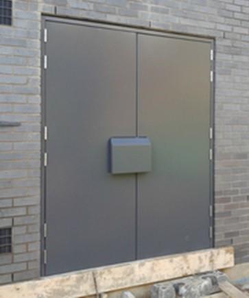 Double Leaf Substation Door