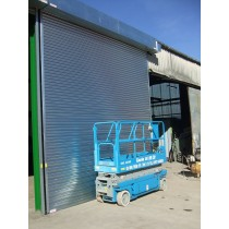 Galvanised Steel Solid Slats