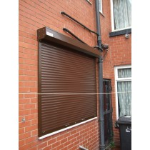 Brown RAL 8014 Insulated Slats