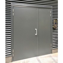 Double Leaf & Half Personnel Door