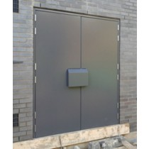 Double Leaf Substation Door