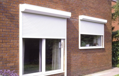 White RAL 9010 Insulated Slats