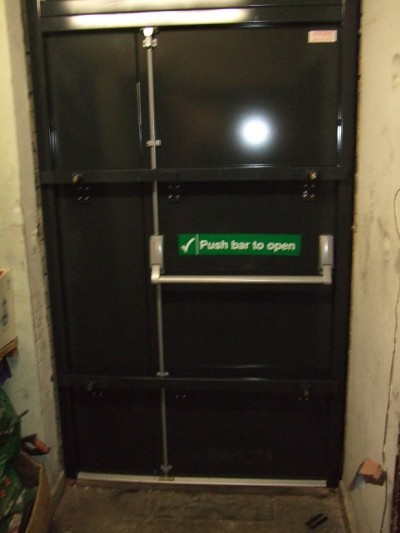 Double Leaf & Half Fire Door - 2 Point Locking