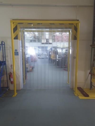 PVC Strip Curtains | Clear Standard Grade