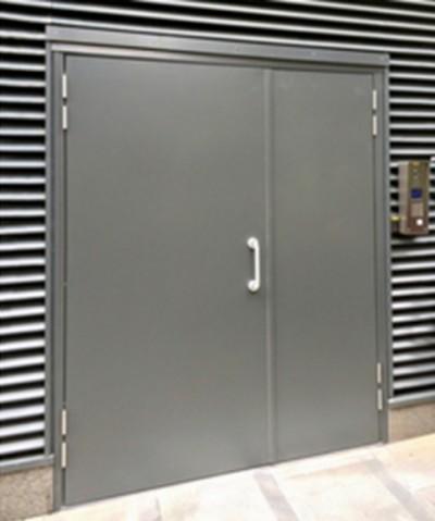 Double Leaf & Half Personnel Door