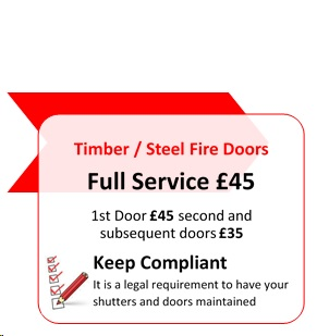 Emergency Shutter Repairs - Call Out Option 1